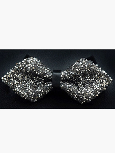Image of Bow Tie elegante bicolore poliestere uomo