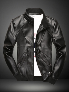 stand-collar-caual-men-pu-leather-jacket
