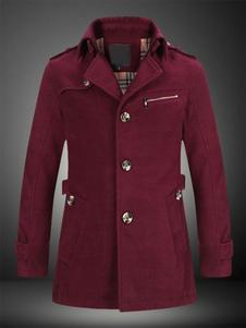 turndown-collar-bottons-causal-woolen-coat-for-men