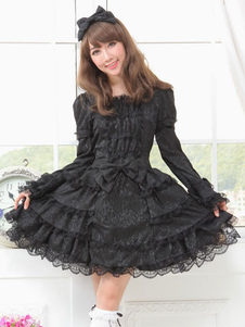 gothic-layered-lace-palace-style-satin-lolita-dress