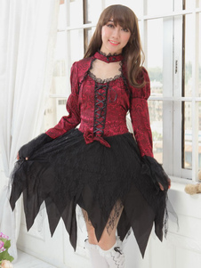 gothic-sweet-bow-long-sleeved-palace-style-lolita-dress