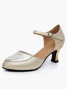 Image of Scarpe da ballo di mandorla Toe cinturino alla caviglia