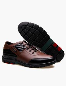 Calidad ronda Toe zapatos del elevador