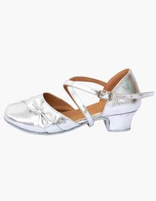 Image of Punta a mandorla Bow scarpe da ballo per bambini