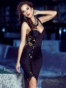 sequined-asymmetrical-club-dress