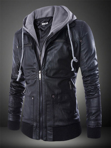 hooded-pu-leather-moto-jacket-for-man
