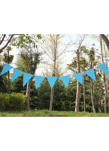 blue-specialty-paper-pennant-wedding-decorations