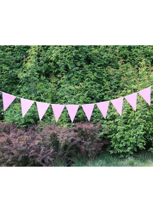 pink-specialty-paper-pennant-wedding-decorations