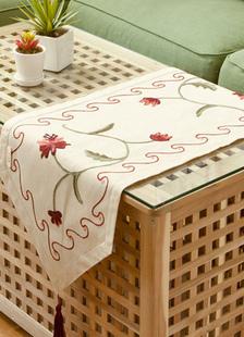 ivory-polyester-wedding-table-runner