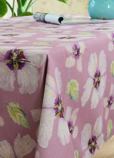 multicolor-flowers-print-garden-polyester-tablecloth