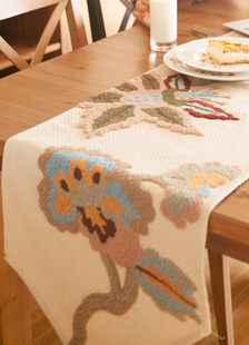 ivory-vintage-polyester-table-runner