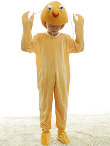 yellow-kids-lobster-synthetic-halloween-costumes