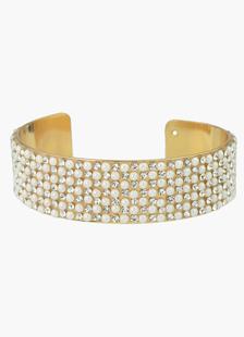 Perals aleación pulsera de oro de