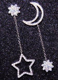 Image of Tramutante stelle lega orecchio giacca per le donne