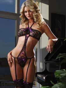 Arcos de la púrpura poliéster peluches atractivos para las mujeres