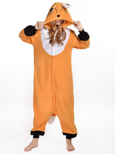 kigurumi-pajama-fox-onesie-orange-synthetic-mascot-costume