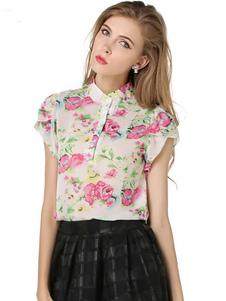 flroal-print-chiffon-blouse-for-women