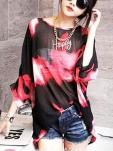 red-ink-art-chiffon-blouse-for-women