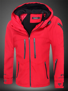 red-polyester-hooded-jacket-for-men