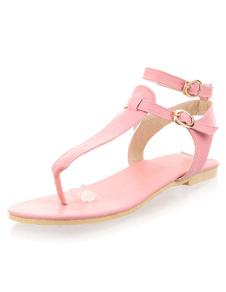 pink-bo-ho-pu-flat-sandals-for-women