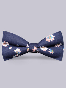 daisy-printed-cotton-blue-bow-tie