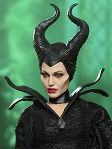 Accesorio negro látex Maléfica  Halloween
