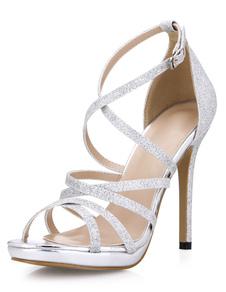 silver-glitter-fashion-gladiator-sandals-for-women