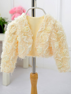 champagne-rayon-girl-wedding-shawl-with-flowers