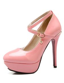 patent-pu-pink-platfrom-heels-for-women