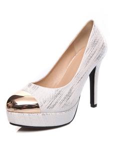 white-metallic-toe-platfrom-heels-for-women