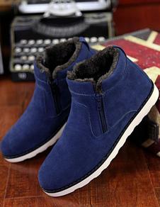 Ante Micro azul cachemir botas para hombres