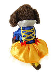 multicolor-princess-synthetic-dogs-clothes-for-pets