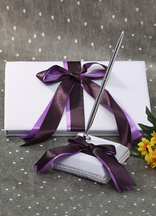 multicolor-bows-ribbons-wedding-books-pens
