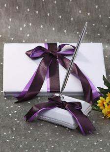 multicolor-bows-ribbons-wedding-books-pens