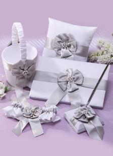 Arcos de flores colección conjunto de la boda de plata
