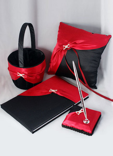 black-red-ribbons-wedding-flowers-collection-set