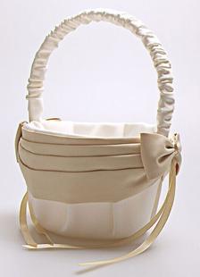 ivory-bows-ribbons-wedding-flower-basket
