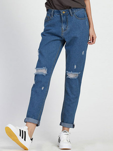 blue-ripped-jeans-straight-denim-jeans-for-women