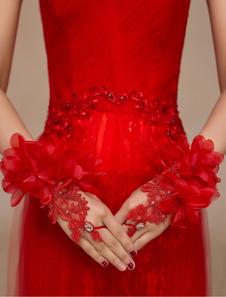 red-lace-flowers-rhinestone-wedding-mitten