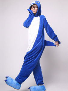 kigurumi-pajamas-shark-onesie-multicolor-jumpsuit-animal-polyester-costume