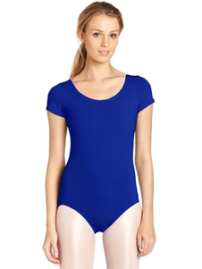 Azul Ballet danza traje Slim Fit Lycra Spandex ositos de peluche para las mujeres