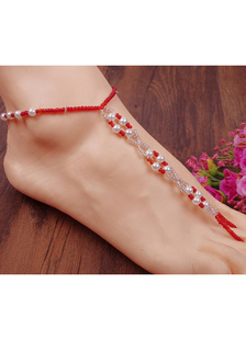beach-wedding-footwear-two-tone-beach-anklet-beaded-chic-anklet-for-women