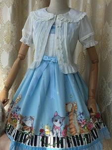 white-lolita-blouse-open-front-buttons-chiffon-lace-blouse
