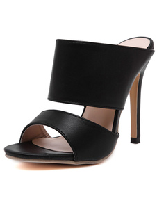 black-sandals-chic-pu-slippers-for-women