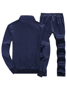 navy-cycling-jerseys-print-polyester-sports-suit-for-men