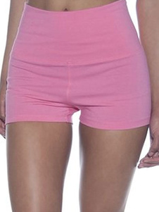 pink-sports-shorts-slim-fit-cotton-shorts-for-women