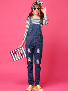 navy-ripped-jeans-distressed-overalls-straight-slim-fit-denim-jeans-for-women