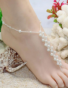 white-beaded-pearls-anklet-beach-wedding-accessories
