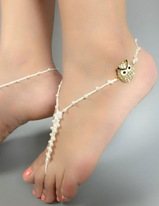 white-beaded-anklet-owl-beach-wedding-accessories