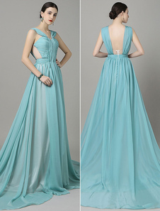 cut-out-chiffon-evening-dress-backless-straps-pleated-chaple-train-red-carpet-dress